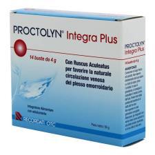 PROCTOLYN INTEGRA PLUS 14 BUSTE DA 4 G