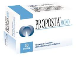 PROPOSTA MONO 30 COMPRESSE