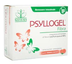 PSYLLOGEL FIBRA GUSTO ARANCE ROSSE 10 BUSTINE STICK DA 4,3 G