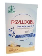 PSYLLOGEL MEGAFERMENTI 6 GUSTO VANIGLIA 20 BUSTE