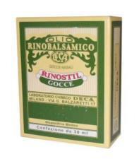 RINOSTIL GOCCE OLIO RINOBALSAMICO 30 ML
