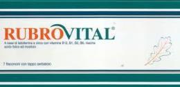 RUBROVITAL 7 FLACONCINI CON SERBATOIO