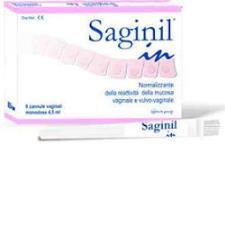SAGINIL IN CANNULA VAGINALE - 10 PEZZI DA 4,5 ML