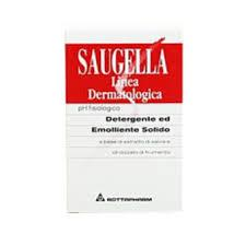 SAUGELLA LINEA DERMATOLOGICA - DETERGENTE ED EMOLLIENTE SOLIDO pH FISIOLOGICO - 100 G