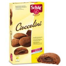 SCHAR DOLCI - CIOCCOLINI BISCOTTI RIPENI AL CACAO SENZA GLUTINE - 150 G