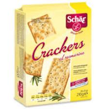 SCHAR SNACK - CRACKERS AL ROSMARINO SENZA GLUTINE - 6 x 35 G