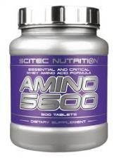 SCITEC NUTRITION AMINO 5600 - INTEGRATORE DI AMINOACIDI - 500 COMPRESSE