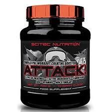 SCITEC NUTRITION ATTACK 2.0 - PROMOTORE COMPLESSO PRE WORKOUT GUSTO CHERRY - 720 G