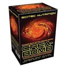 SCITEC NUTRITION CREA-BOMB - INTEGRATORE ALIMENTARE IN POLVERE GUSTO PASSION FRUIT - 25 BUSTINE DA 11 G