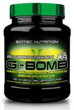 SCITEC NUTRITION G-BOMB 2.0 - MISCELA DI GLUTAMMINA GUSTO TE AL LIMONE - 500 G