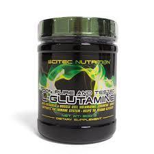 SCITEC NUTRITION L-GLUTAMINE - PURA L-GLUTAMMINA ANABOLICA - 300 G
