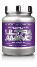 SCITEC NUTRITION ULTRA AMINO - CAPSULE COMPLESSE DI PROTEINE DEL LATTE - 500 CAPSULE