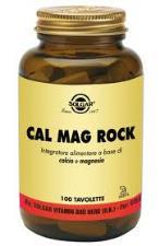 SOLGAR® CAL MAG ROCK INTEGRATORE ALIMENTARE 100 TAVOLETTE