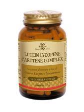 SOLGAR LUTEIN LYCOPENE CAROTENE COMPLEX 30 CAPSULE