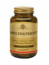 SOLGAR® MULTINUTRIENT 30 TAVOLETTE