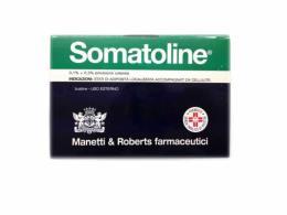 SOMATOLINE 0.1+0.3% EMULSIONE CUTANEA 15 BUSTINE