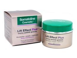 SOMATOLINE COSMETIC LIFT EFFECT PLUS CREMA ANTIETA GLOBALE GIORNO PELLE NORMALE E MISTA 50 ML