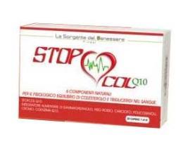 STOP COL Q10 INTEGRATORE ALIMENTARE PER FAVORIRE IL CONTROLLO DI COLESTEROLO E TRIGLICERIDI - 30 CAPSULE