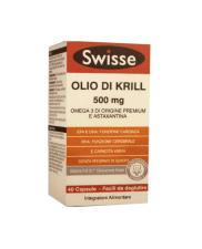 SWISSE OLIO DI KRILL 500 MG INTEGRATORE PER PER LA FUNZIONE CARDIACA E CEREBRALE - 40 CAPSULE