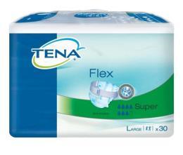 TENA® FLEX SUPER MISURA LARGE 30 PEZZI