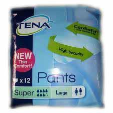 TENA PANTS SUPER MISURA LARGE - 12 PEZZI