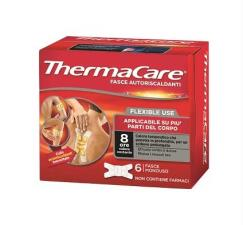 THERMACARE® FASCE RISCALDANTI FLEXIBLE USE 6 FASCE MONOUSO