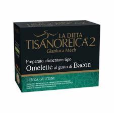 TISANOREICA 2 - OMELETTE AL GUSTO DI BACON - 4 BUSTE DA 27,5 G