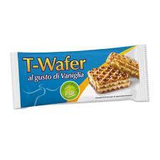 TISANOREICA T-WAFER AL GUSTO DI VANIGLIA - 2 PEZZI DA 20,2 G