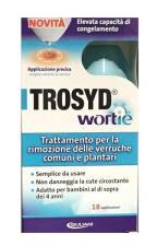 TROSYD WORTIE TRATTAMENTO PER LA RIMOZIONE DELLE VERRUCHE - 50 G