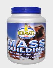 ULTIMATE ITALIA MASS BUILDING GUSTO CACAO - 1,8 KG