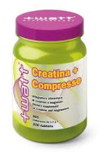 WATT CREATINA + COMPRESSE EXTRA GOLD - INTEGRATORE ALIMENTARE DI CREATINA - 300 COMPRESSE