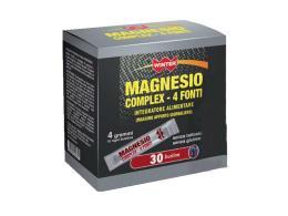 WINTER MAGNESIO COMPLEX 4 FONTI INTEGRATORE PER LA STANCHEZZA E L'AFFATICAMENTO - 30 BUSTINE DA 4 G