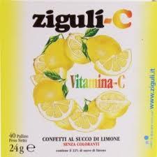 ZIGULI C SUCCO DI LIMONE 40 PALLINE