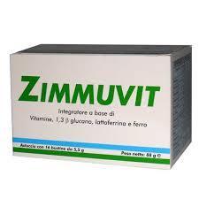 ZIMMUVIT INTEGRATORE RICOSTITUENTE IMMUNOSTIMOLANTE - 16 BUSTINE