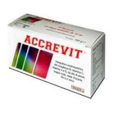ACCREVIT INTEGRATORE MULTIVITAMINICO MULTIMINERALE - 10 FLACONCINI