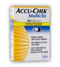 ACCU CHEK MULTICLIX LANCETTE - 100+2 LANCETTE