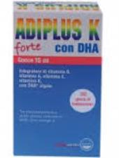 ADIPLUS K FORTE GOCCE INTEGRATORE ALIMENTARE A BASE DI DHA E VITAMINE - 15 ML
