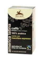 ALCE NERO CAFFE' 100% ARABICA IN CIALDE BIOLOGICO - 18 CIALDE