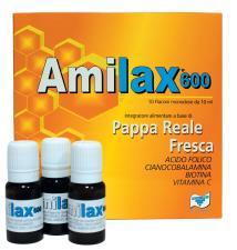 AMILAX 600 INTEGRATORE ALIMENTARE 10 FLACONI DA 10 ML