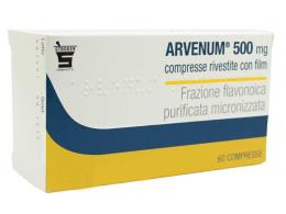 ARVENUM 500 MG VASOPROTETTORE E VENOTONICO - 60 COMPRESSE RIVESTITE