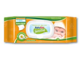 BABYLINO SENSITIVE FRAGRANZA DELICATA 54 SALVIETTE