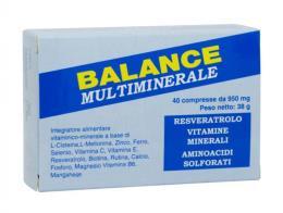 BALANCE MULTIMINERALE 40 COMPRESSE DA 950 MG