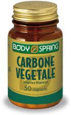 BODY SPRING CARBONE VEGETALE - 50 CAPSULE