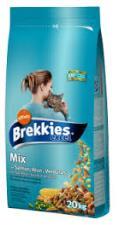 BREKKIES CAT MIX SALMONE GR.1500 - 6 CONFEZIONI