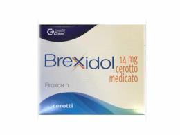 BREXIDOL 14MG - 8 CEROTTI MEDICATI