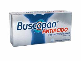 BUSCOPAN ANTIACIDO 75MG - 10 COMPRESSE EFFERVESCENTI