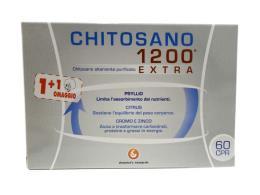 CHITOSANO 1200 EXTRA 60 COMPRESSE DA 1,2 G + 60 IN OMAGGIO