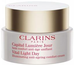 CLARINS CAPITAL LUMIERE NUIT SOIN CONFORT ANTI - AGE REVITALISANT 50 ML