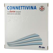 CONNETTIVINA 2MG GARZE IMPREGNATE CON ACIDO IALURONICO 10 GARZE DA 10x10 CM