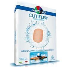 CUTIFLEX ACQUA STOP MEDICAZIONE IMPERMEABILE TRASPARENTE EXTRA LARGE - 5 PEZZI DA 14 x 14 CM